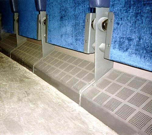 Gradindon integrerade med stolstativ. En lättstädad lösning.